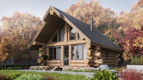 Rąstinių namų statyba